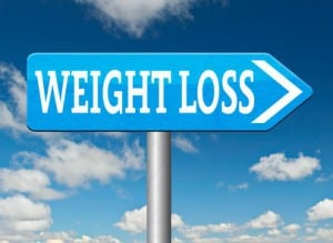 weight loss road sign,losing weight this way