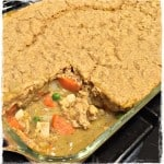 Vegan Chicken Pot Pie With Cornbread Crust