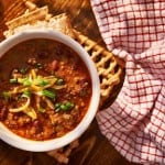 Meaty Vegan Three Bean Chili