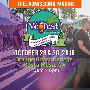 2016 SoCal VegFest,vegan festival,vegan event,plant-based celebrity speakers,vegan authors,vegan cooking demos,cruelty-free products