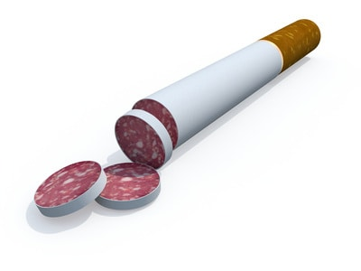 meat is the new nicotine,animal foods cause disease like cigarettes,animal protein causes disease like cigarettes,red meat causes disease,processed meat causes disease,animal foods linked to cancer,animal foods linked to heart disease,animal foods linked to diabetes,animal protein causes cancer,animal protein causes heart disease,animal protein causes diabetes,the animal protein disease connection