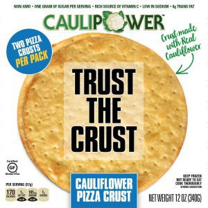 gluten free pizza crust,plant based pizza crust,pizza crust made from cauliflower,caulipower,vegan pizza crust