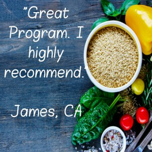 James Your Plant Based Guide testimonial