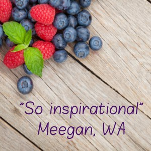 Meegans Your Plant Based Guide testimonial