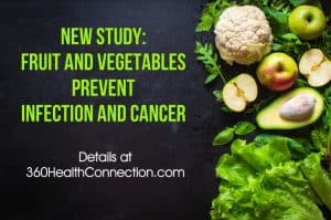 New Study Shows Fruit and Vegetables Prevent Cancer,new study reveals that fruit and vegetables prevent infection,new study shows that a plant based diet prevents infection and cancer,prevent colon cancer with fruit and vegetables