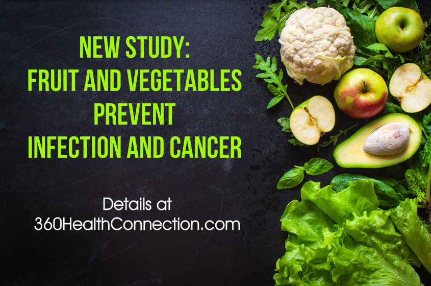 New Study Shows How Fruit And Vegetables Prevent Infection And Colon Cancer