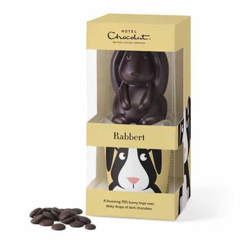 Hotel Chocolat Vegan Chocolate Rabbit