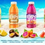 hemp2o plant based drinks from natural products expo west contain plant protein