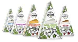 nuts for cheese vegan cheese brand,plant-based cheese products from Canada