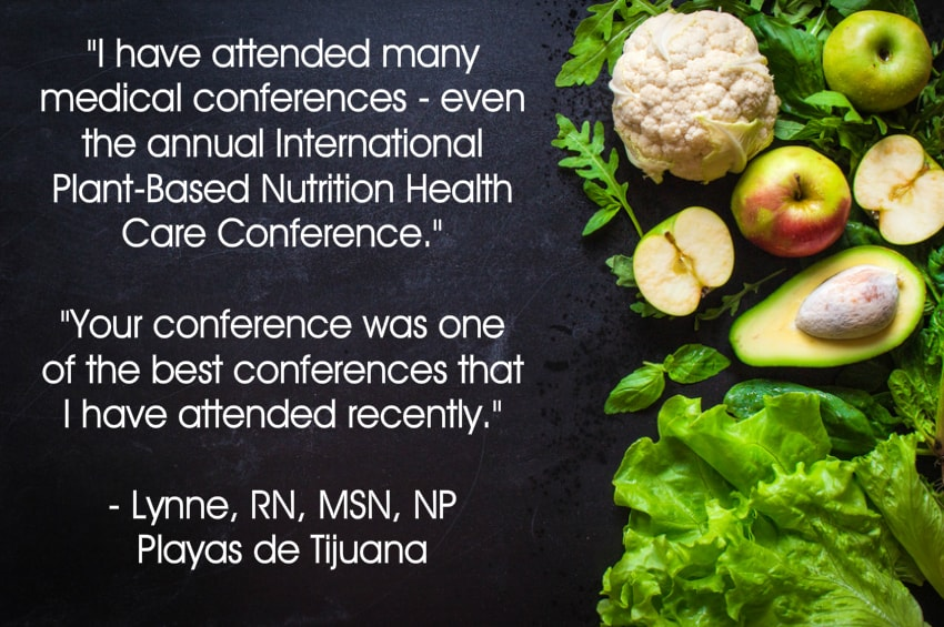 Your Plant Based Guide Conference testimonial from nurse Lynne