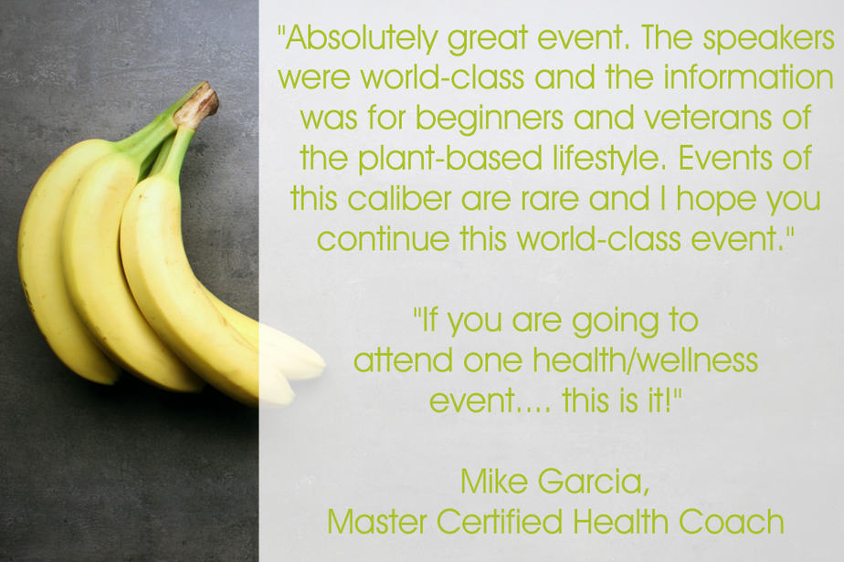 Mike health coach testimonial for Your Plant Based Guide Conference
