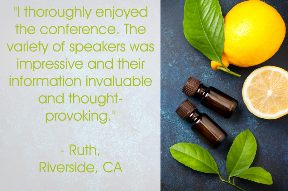 Ruths testimonial for your plant based guide conference