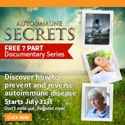 Autoimmune Secrets documentary reveals how you can prevent and reverse Chrons disease, ulcerative colitis, multiple sclerosis, arthritis, fibromyaglia, and other autoimmune diseases