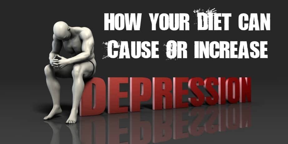 how diet causes depression