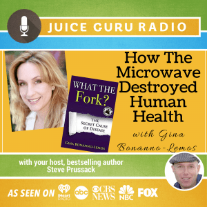 Watch and listen to Gina Bonanno Lemos on Juice Guru Radio and podcast show where she talks about the benefits of a plant based diet and preventing and reversing disease naturally